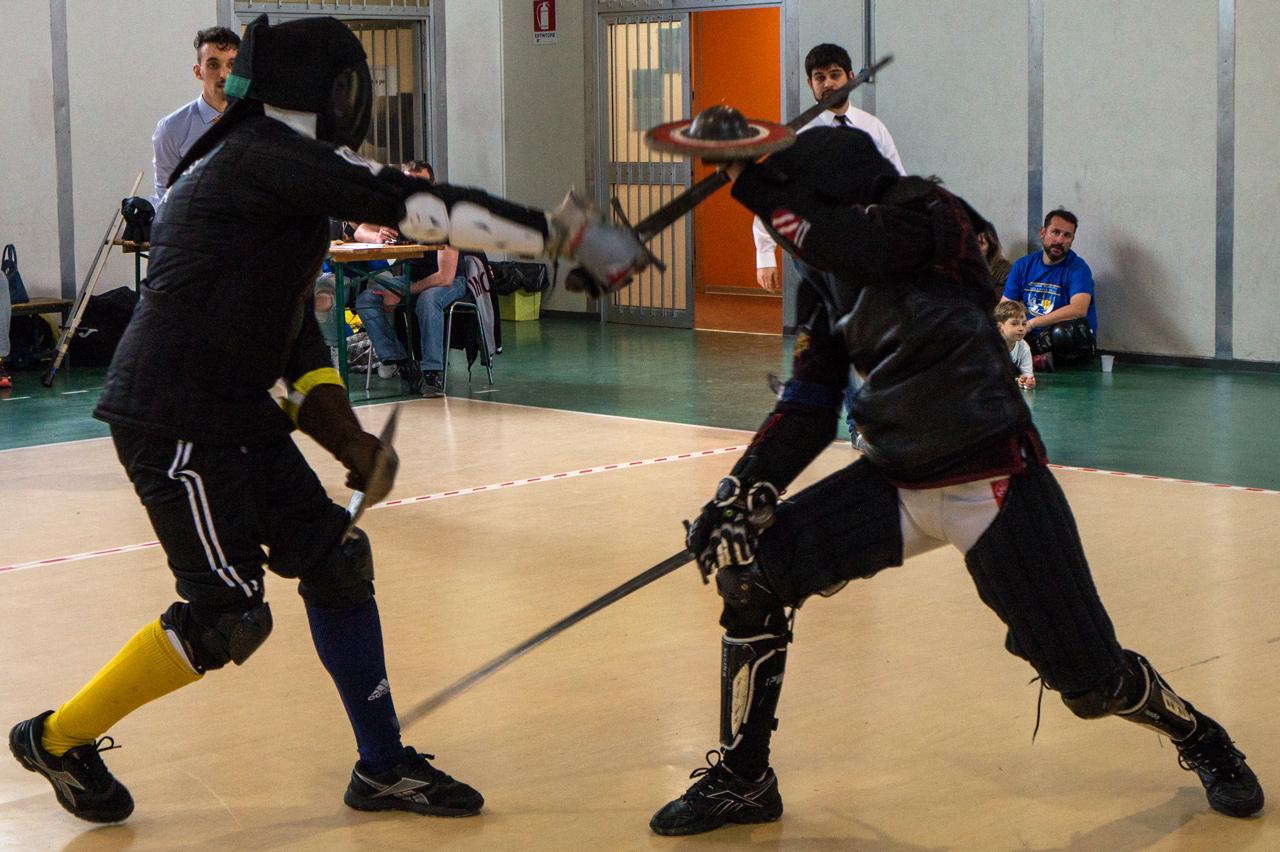 competizione di spada e brocchiero